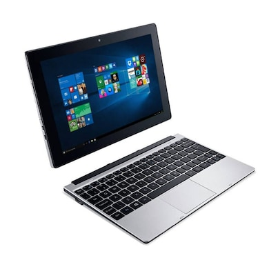 Acer One S1001 NT.G86SI.002 10.1 Inch 2 in 1 Laptop (Intel Atom 5th Gen/2GB/32GB EMMC/Win 10) Silver Price in India