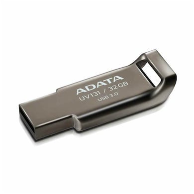 ADATA UV131 32 GB USB 3.0 Flash Drive Grey Price in India