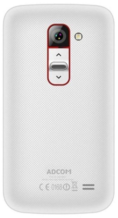 Adcom Kitkat A35 Plus (White, 512MB) Price in India