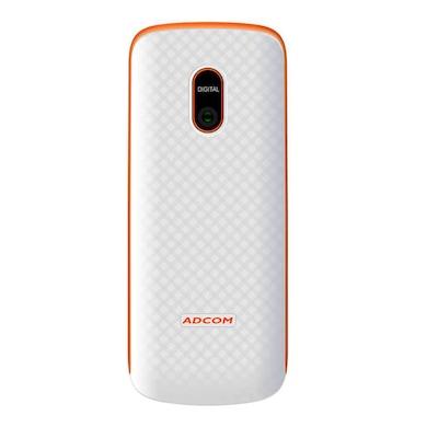 Adcom Nonu X9 (White and Orange, 64MB) Price in India