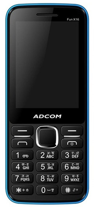 Adcom X16 (Black and Blue) Price in India