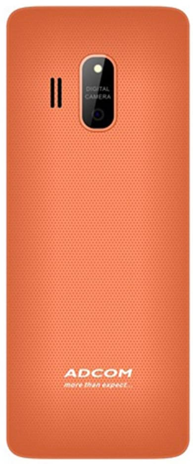 Adcom X17 Trendy (White and Orange) Price in India