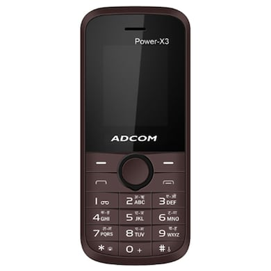 Adcom X3 (Black and Brown, 32MB RAM, 64MB) Price in India