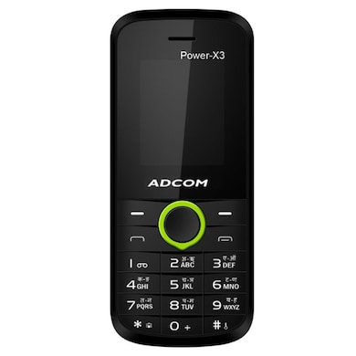 Adcom X3 (Black and Green, 32MB RAM, 64MB) Price in India