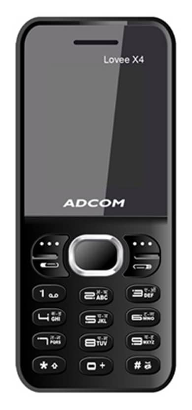Adcom X4 Lovee (Black, 32MB) Price in India