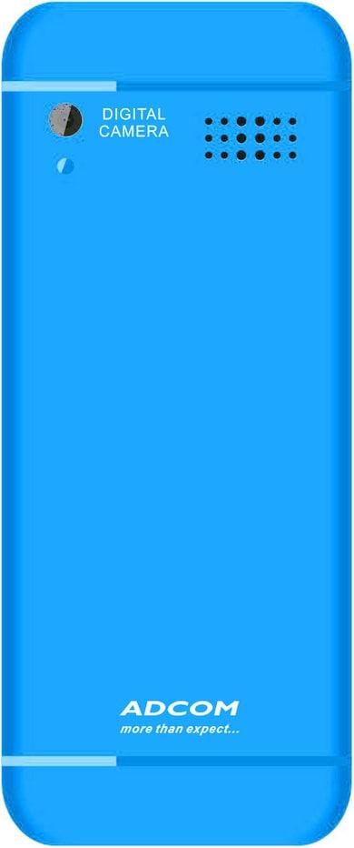 Adcom X4 Lovee (Blue, 32MB) Price in India