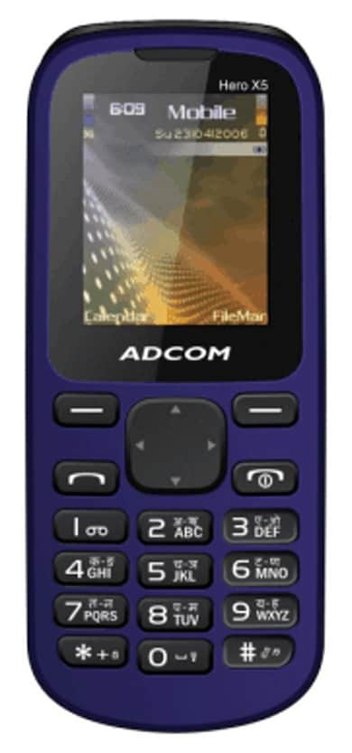 Adcom X5 (Black and Blue, 32MB RAM, 16MB) Price in India