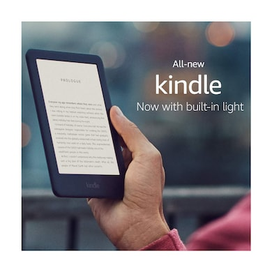 All-New Kindle (10th Gen), 6 Inch Display now with Built-in Light, 4 GB, Wi-Fi White Price in India
