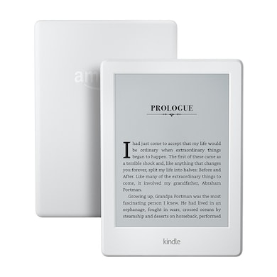 All-New Kindle E-reader 6 Inch Glare-Free Touchscreen Display, Wi-Fi White Price in India