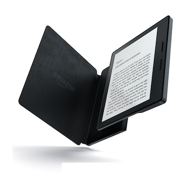 All-New Kindle Oasis with Leather Charging Cover 6 Inch High Resolution Display, Wi-Fi Black Price in India