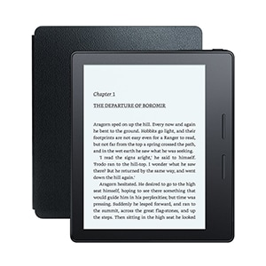 Buy All-New Kindle Oasis with Leather Charging Cover 6 Inch High Resolution Display, Wi-Fi+Free 3G Online