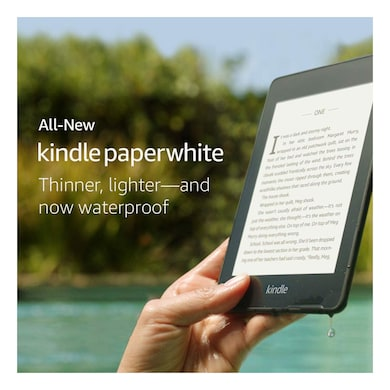 All-New Kindle Paperwhite 4G LTE (10th Gen) 6 Inch Display, 32GB, Waterproof, WiFi + Free 4G LTE Black Price in India