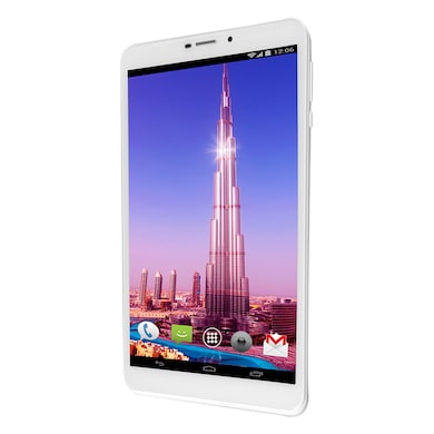 Ambrane AQ-880 3G Calling 8 Inch Tablet White, 8GB Price in India