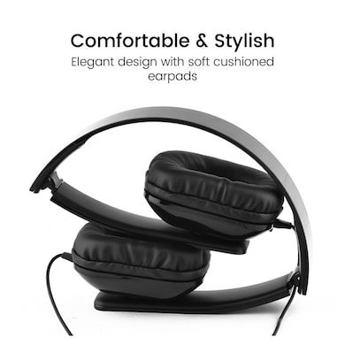b0291742e4c ... Ambrane HP-11 Over Ear Wireless Headphones With Mic Black Price in India