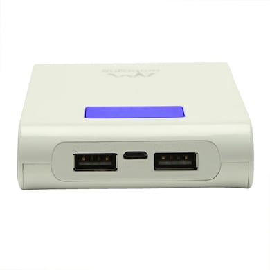 Ambrane P-1000 Power Bank 10400 mAh White Price in India