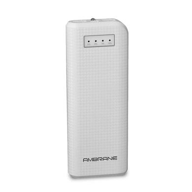 Ambrane P-1200 Power Bank 12000 mAh White images, Buy Ambrane P-1200 Power Bank 12000 mAh White online at price Rs. 999