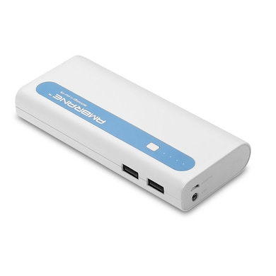 Ambrane P-1310 Power Bank 13000 mAh White and Blue images, Buy Ambrane P-1310 Power Bank 13000 mAh White and Blue online at price Rs. 1,199
