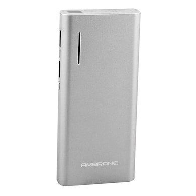 Ambrane P-1313 Power Bank 13000 mAh Silver Price in India