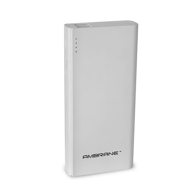 Ambrane P-1333 Power Bank 13000 mAh White Price in India