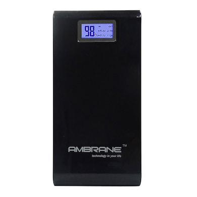 Ambrane P-1500 Power Bank 15600 mAh Black Price in India