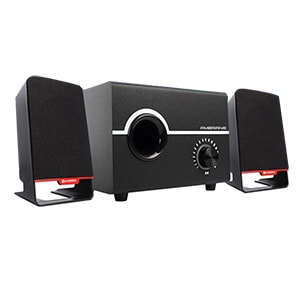 Buy Ambrane SP-200 Laptop/Desktop Speaker 2.1 Channel Online