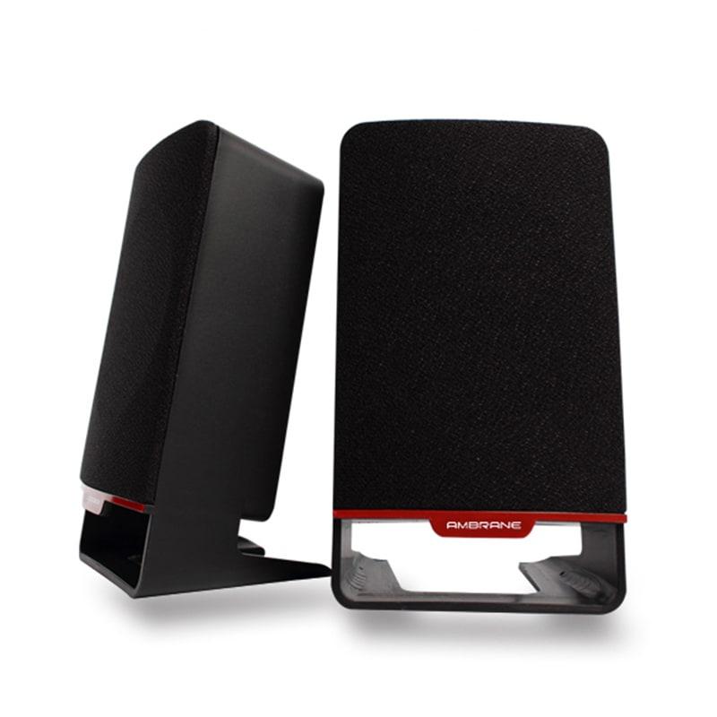 Buy Ambrane SP-200 Laptop/Desktop Speaker 2.1 Channel Black online