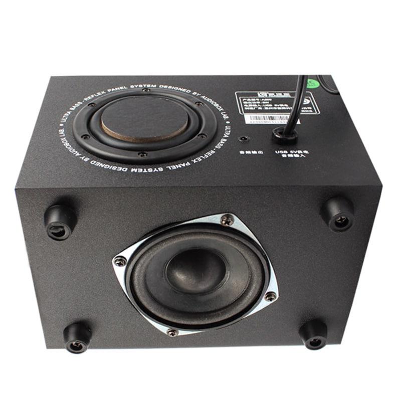 Ambrane SP-200 Laptop/Desktop Speaker 2.1 Channel Black images, Buy Ambrane SP-200 Laptop/Desktop Speaker 2.1 Channel Black online at price Rs. 829