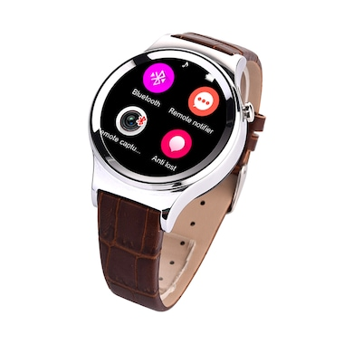 Ambrane W-2000 Smart Watch With Bluetooth Call Black Price in India