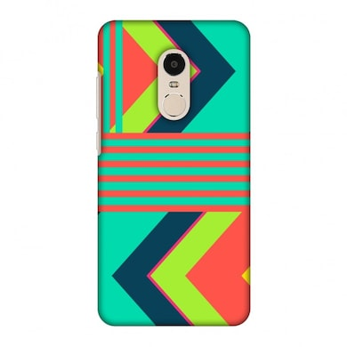 amzer designer case aztec teal and coral for redmi note 4