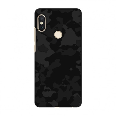 buy online 3f3b5 76e4f Amzer Designer Case Camou-Black And Burnt Grey For Redmi Note 5 Pro