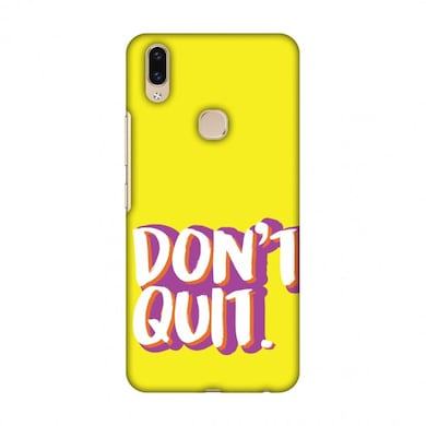 Amzer Designer Case Dont Quit! For Vivo V9 Multicolor Price in India