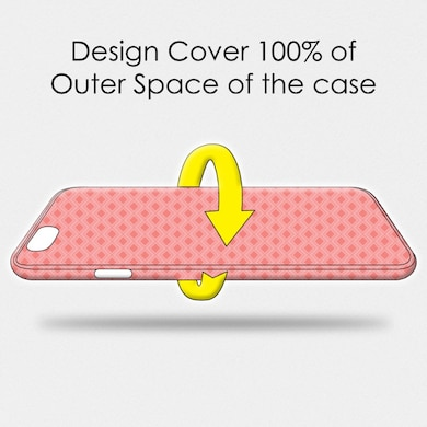 Amzer Designer Case Ferns Over Honeycomb-Baby Pink For Redmi Note 5 Pro Multicolor Price in India