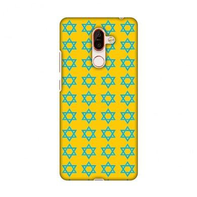 Amzer Designer Case Hanukkah Pattern 1 For Nokia 7 Plus Multicolor Price in India