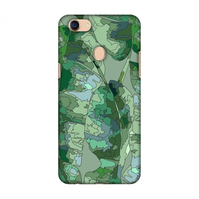 Amzer Designer Case Tropically Pixelated - Teal For Oppo A73, Oppo F5  Youth, Oppo F5