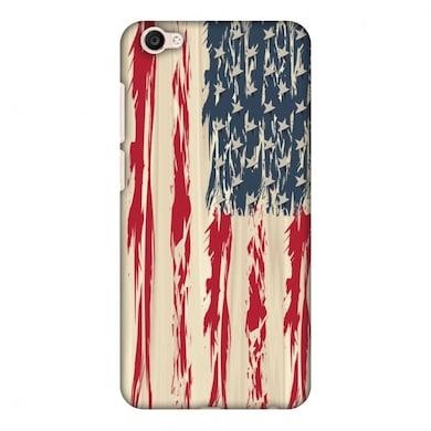 new concept f512b c6fee Amzer Designer Case-USA flag-Paint splashes For Vivo V5, Vivo V5S, Vivo Y67