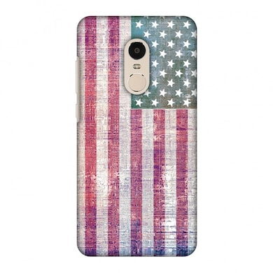 amzer designer case usa flag wood texture for redmi note 4