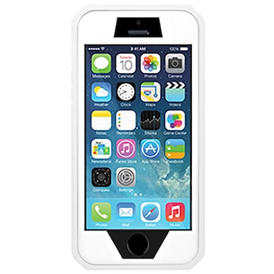 7f39de3eb38 Amzer Full Body Hybrid Case For iPhone 5 White Price in India – Buy ...
