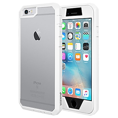 38480b81c04 Amzer Full Body Hybrid Case For iPhone 6 Plus White Price in India ...
