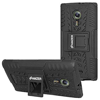 pretty nice 7de6d 8b8c9 Amzer Hybrid Warrior Case For Alcatel OneTouch Flash 2