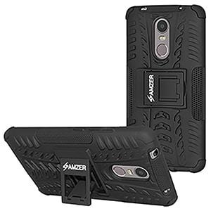 Buy Amzer Hybrid Warrior Case for Lenovo K6 Note Online