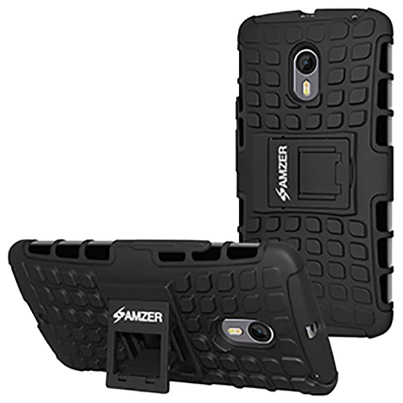 innovative design 7cc69 16b51 Amzer Hybrid Warrior Case For Motorola Moto X Pure Edition Black Price in  India – Buy Amzer Hybrid Warrior Case For Motorola Moto X Pure Edition ...