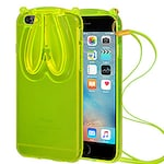 Buy Amzer TPU Case With Rabbit Ears For iPhone 6 Green Online