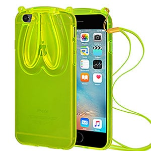 Buy Amzer TPU Case With Rabbit Ears For iPhone 6 Online