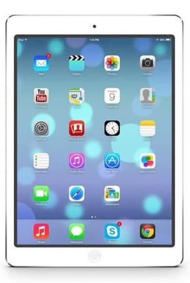 Apple iPad Air, WiFi + Cellular Silver, 16 GB Price in India