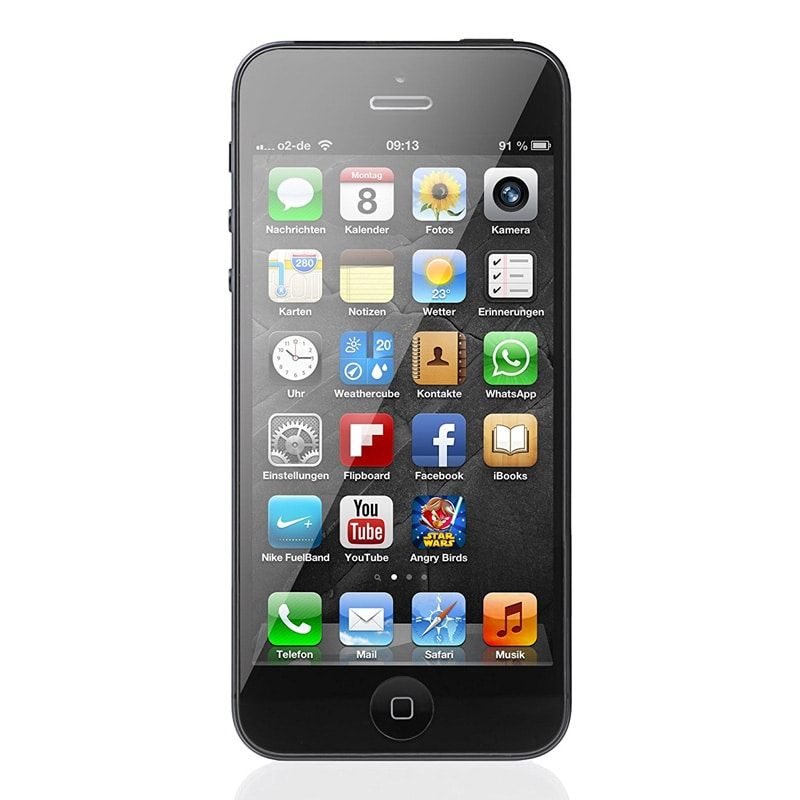 Buy Refurbished Apple iPhone 5 (Black, 1GB RAM, 16GB ...