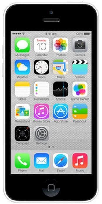 Apple iPhone 5C (White, 1GB RAM, 8GB) Price in India