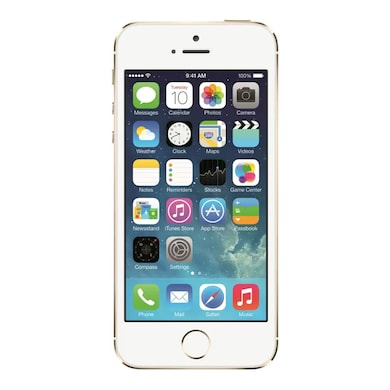 Apple iPhone 5s Gold, 16 GB images, Buy Apple iPhone 5s Gold, 16 GB online at price Rs. 22,999