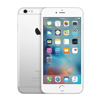 Refurbished Apple iPhone 6s Fingerprint sensor not working (Silver, 2GB RAM, 64GB) Price in India
