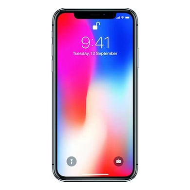 Refurbished Apple iPhone X (Space Grey, 64GB) Price in India