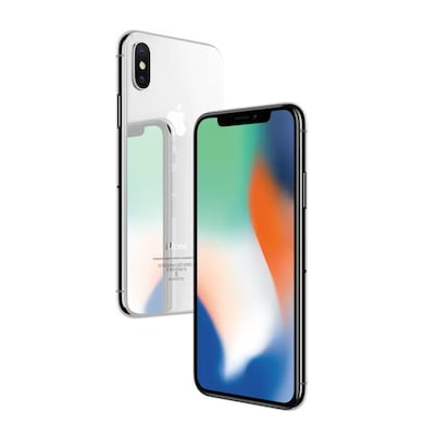 Pre-Owned Apple iPhone X, 256 GB-As good as new (Silver) Price in India